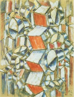 Léger's Contrastes de forms 1913 .