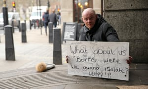 After lockdown was announced, authorities realised rough sleepers were the one group physically unable to follow government advice to stay at home.