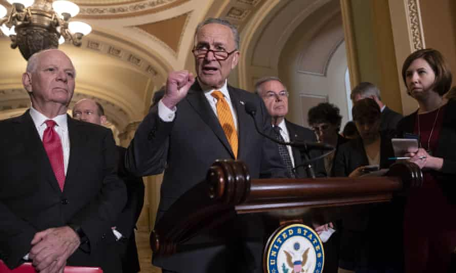 Senator Chuck Schumer: 'It is imperative that we actually get action here – just photo ops.'