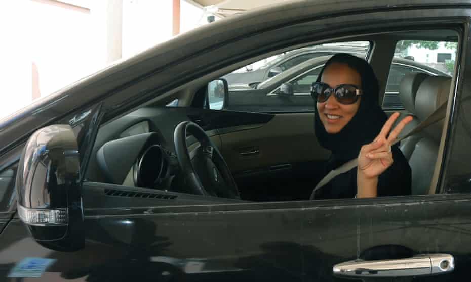 Manal al-Sharif.