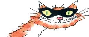 Felonious feline … Macavity as seen in illustrator Arthur Robins's impression of TS Eliot's famous villain.