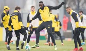 Usain Bolt at Dortmund