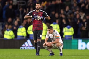 Five defeats now in six matches for Rui Patricio and Wolves.