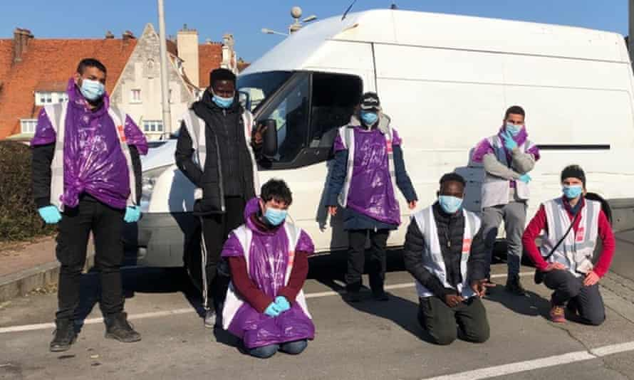 Care4Calais NGO volunteers  in Calais and Dunkirk