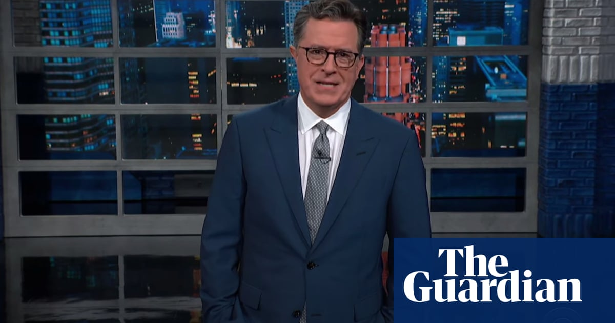 Colbert on Arizona audit: 'They hired Maga fans, and even they couldn't say No 45 won'