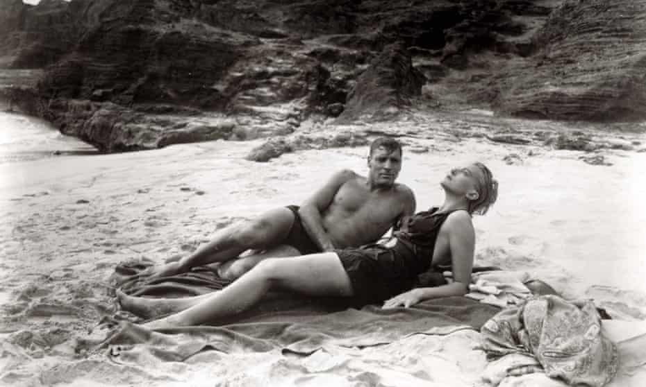 Life's a beach ... Burt Lancaster and Deborah Kerr in From Here to Eternity.
