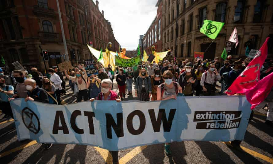 Extinction Rebellion in Manchester