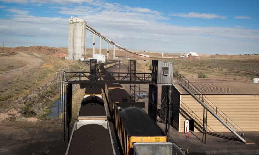 Peabody's North Antelope Rochelle Mine in Wyoming