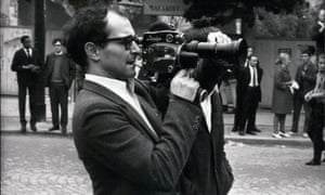 Jean-Luc Godard in 1968 … Does brand loyalty work for both auteurs and cola?