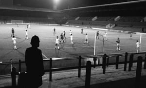 West Ham play Castilla behind closed doors in the Cup Winners' Cup in October 1980 after crowd trouble at the first leg in Madrid.