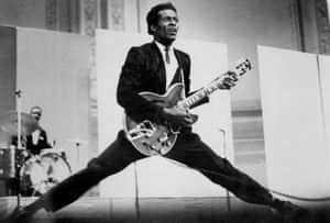 Chuck Berry in 1968.