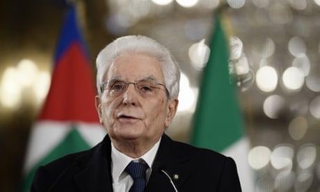 Italian president Sergio Mattarella to seek a 'high-profile' government