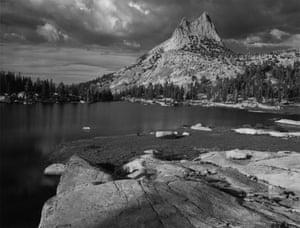 Cathedral Peak and Lake, Yosemite National Park, California, 1938