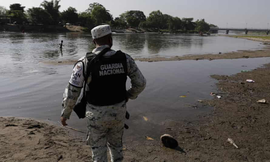 The thin pretense that Mexico's national guard is a civilian force that was used to gain approval for its creation two years ago has been erased.