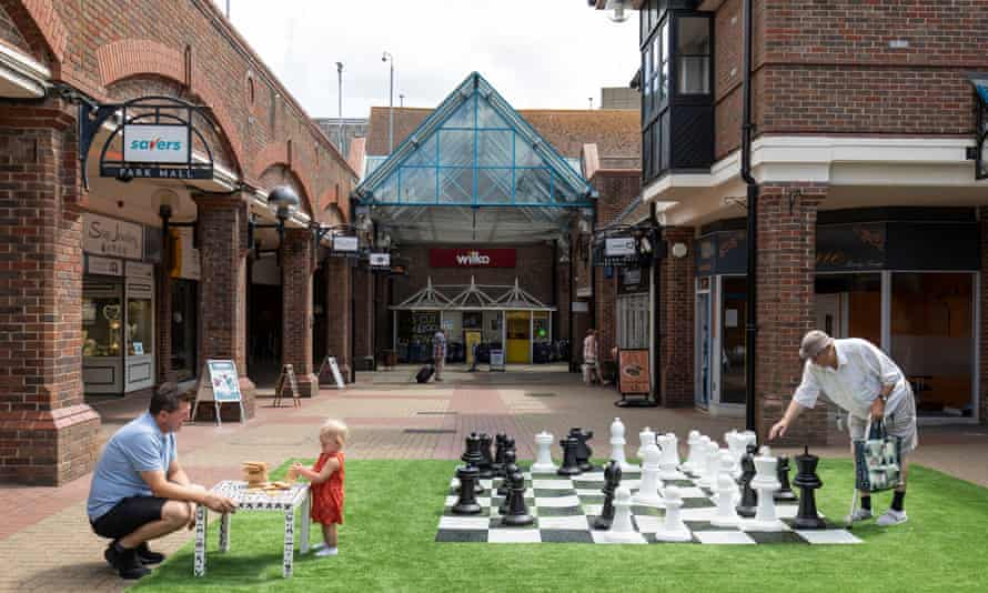 Park Mall in Ashford, Kent. Three years ago the shopping precinct was in a slump.