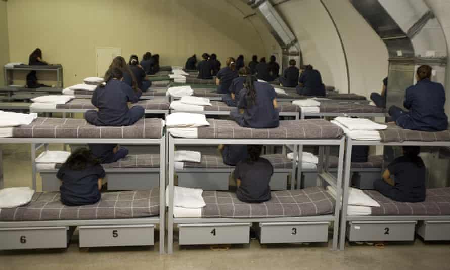 texas immigration detention center women