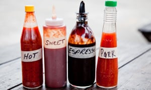The ADS represents almost every type of condiment.