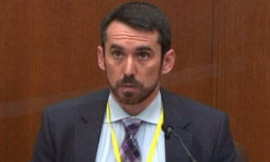 Professor Seth Stoughton testifies in the trial against Derek Chauvin.