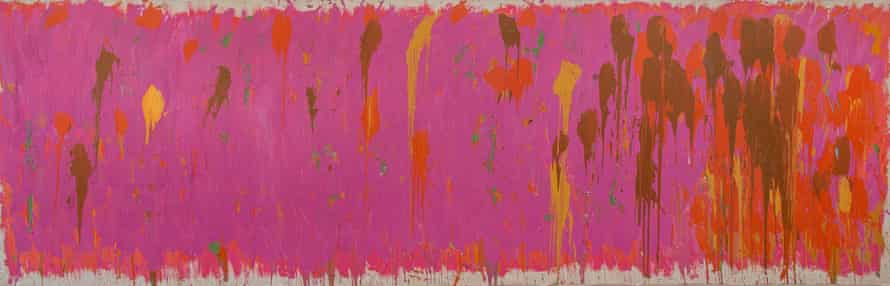 Untitled, 1972, by Gillian Ayres