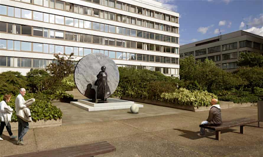 How the statue of Mary Seacole will look in situ
