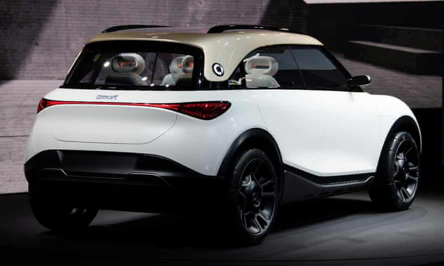 The Smart Concept #1 is a sleek, urban SUV.