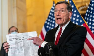 Senator John Barrasso, the highest ranking member on the natural resources committee.