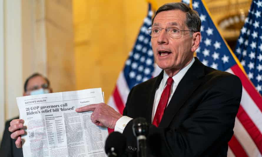 Senator John Barrasso, the ranking member on the natural resources committee.