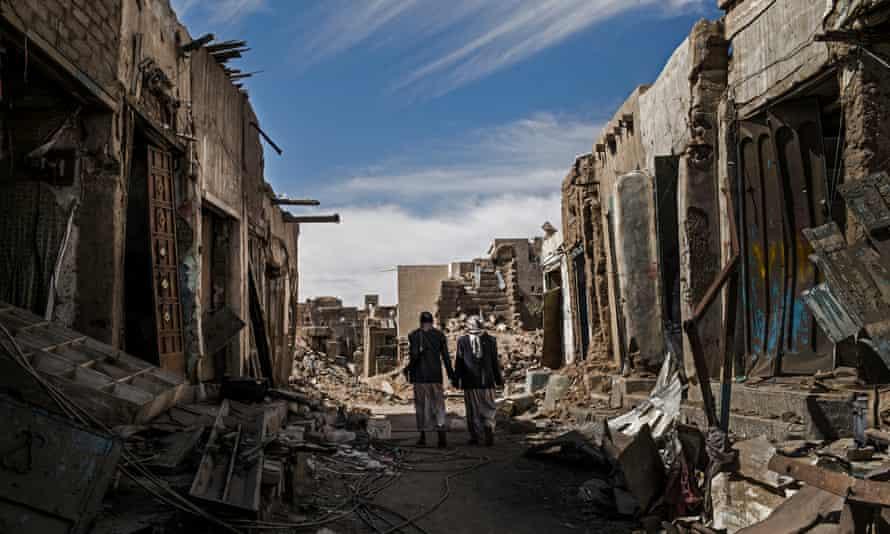 Destruction in Yemen