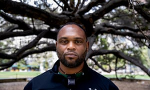Cedric O'Bannon, a journalist and activist, was stabbed at a neo-Nazi rally in 2016.