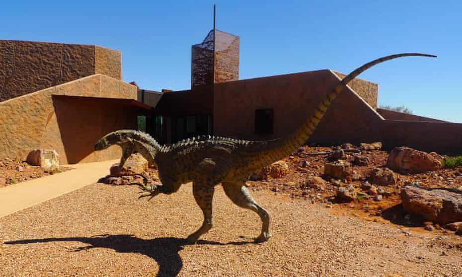 The Australian Age of Dinosaurs Museum of Natural History near Winton in central western Queensland.