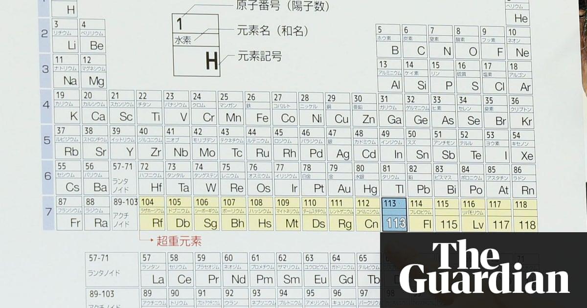 Periodic table periodic table names and symbols song periodic periodic table periodic table names and symbols song names of four new elements on periodic urtaz Images