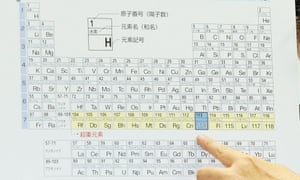 Names of four new elements on periodic table presented for public ununtrium element number 113 on the periodic table urtaz Choice Image