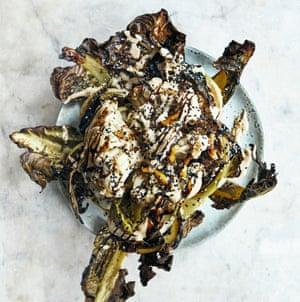 Tom Hunt's merguez spiced cauliflower.