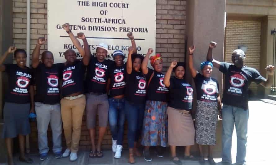 Xolobeni campaigners
