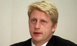 Universities minister Jo Johnson