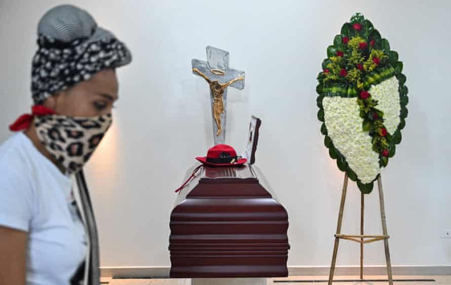 Jorge Enrique Oramas funeral