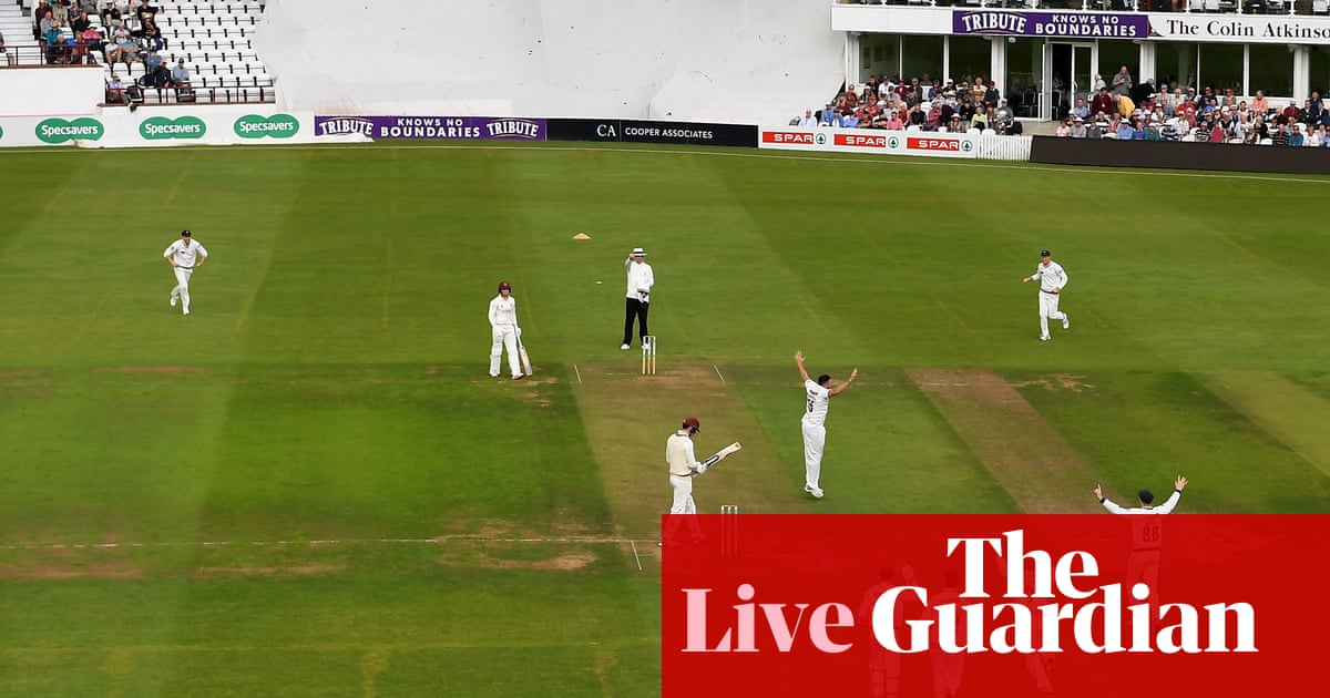 County cricket: Wickets tumble on opening day of fixtures – as it happened