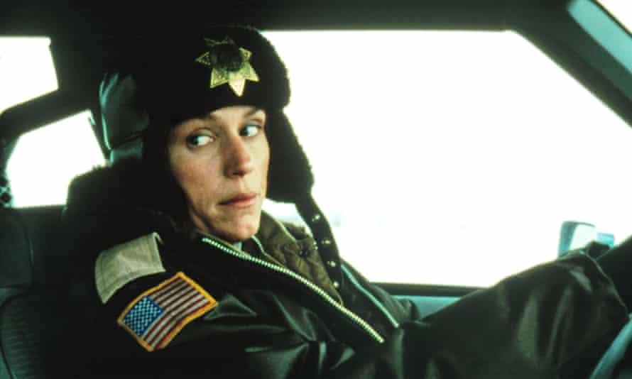 'FARGO' FILM STILLS - 1996No Merchandising. Editorial Use Only. No Book Cover Usage Mandatory Credit: Photo by Everett Collection / Rex Features (415402f) Frances McDormand 'FARGO' FILM STILLS - 1996