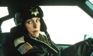 Frances McDormand in Fargo.