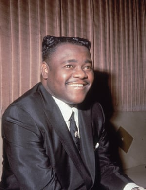 Antoine 'Fats' Domino pictured in 1967