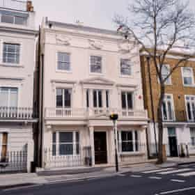 Havona House, Pembridge Villas, which has one of the largest excavated basement conversions in London, which includes a Turkish bath, a cinema and a 70ft swimming pool that turns in to a dancefloor.
