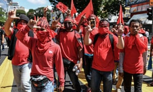 Pro-government Red Shirts