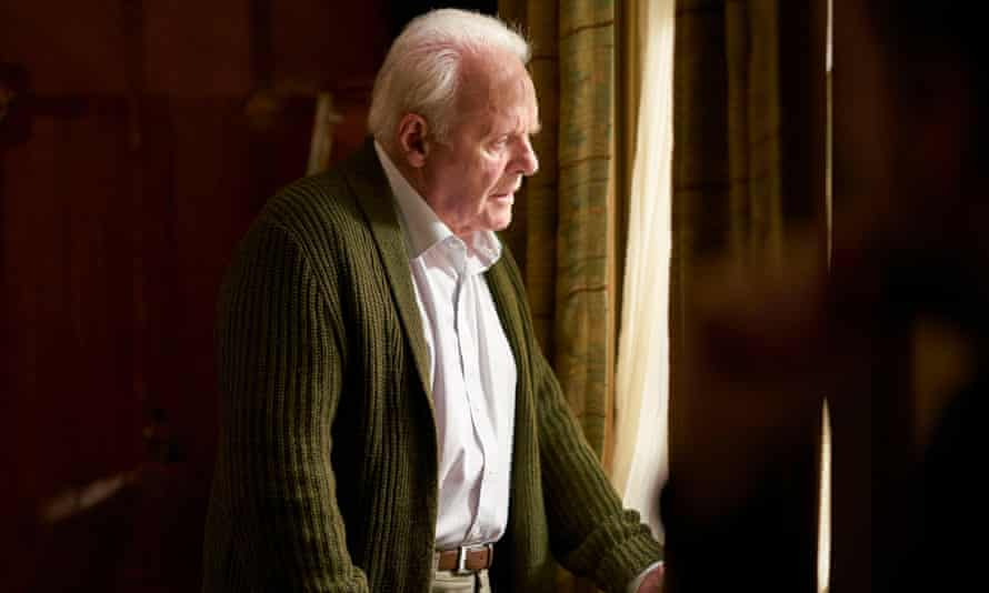 He's the daddy … Anthony Hopkins in The Father.