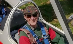 Paul Scorer at the York Gliding Centre. His free-to-use system gives details on thermals, temperature, windspeed, cloud cover, rain and much more, to allow soaring pilots to understand flying conditions across the UK