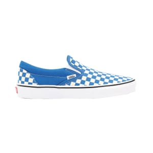 Blue checkerboard, £55, vans.co.uk