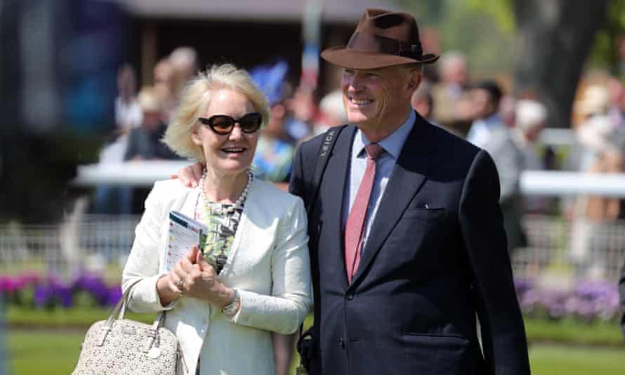 Racing elite John Gosden and Rachel Hood