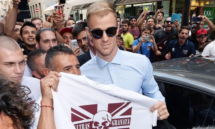 """Joe Hart slutter Torino: """"Jeg er veldig spent på å teste meg selv i den vakre Serie A"""""""