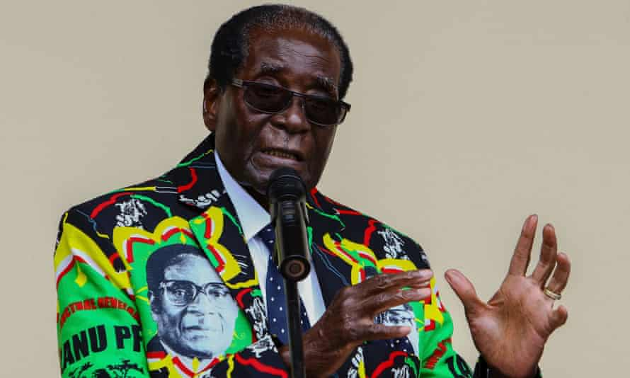 Zimbabwe's President Robert Mugabe: 'Powerless to influence politics within Harare, Britain, the US and a range of foundations put money into select diaspora organisations.'