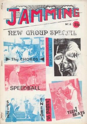 The modzine Jamming, edited by Tony Fletcher, London, 1979