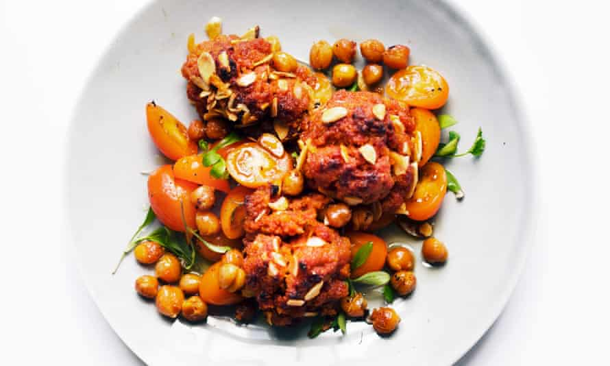 Spheres of influence: chorizo and chickpea balls.
